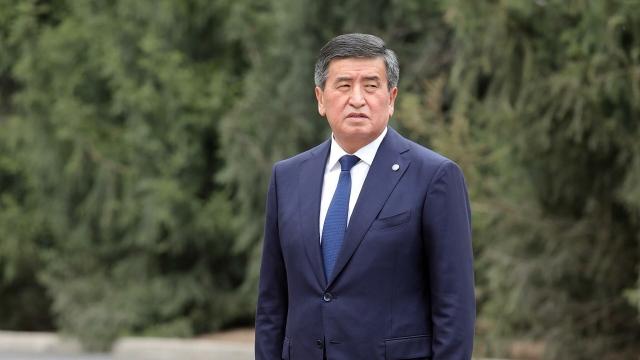 Стало известно местонахождение президента Киргизии