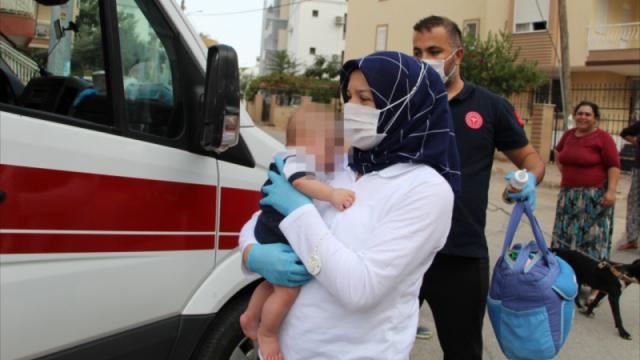 Казахстанка бросила трехмесячного сына во дворе дома в Анталье - СМИ