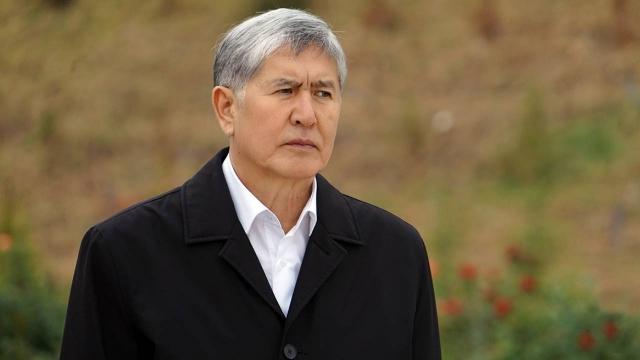 Атамбаев задержан за организацию массовых беспорядков