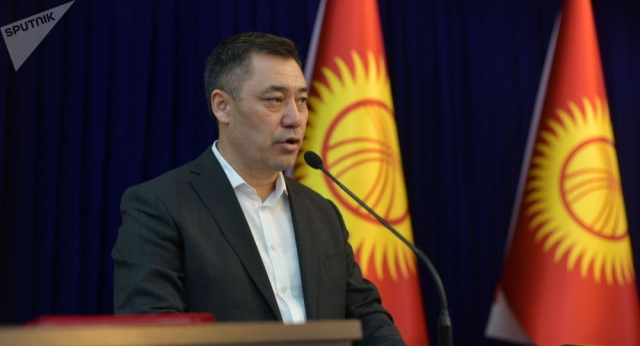 Садыр Жапаров одобрен на пост премьера Кыргызстана