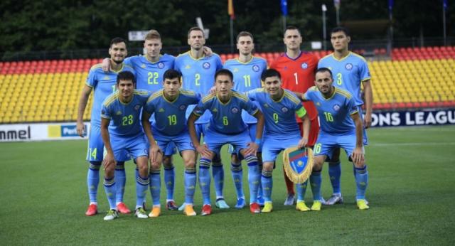 Сборная Казахстана по футболу дома сыграла вничью с Албанией в рамках Лиги Наций