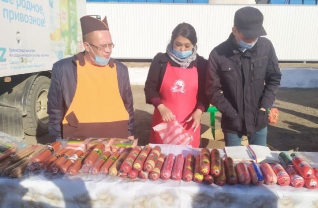 Новая сельскохозяйственная ярмарка открылась в Актобе