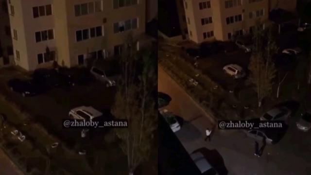 Посетители караоке-бара выпрыгивали со второго этажа, убегая от полицейских в Нур-Султане