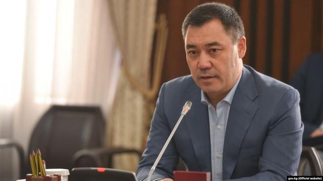 И.о. президента КР Жапаров заявил, что сложит полномочия и будет участвовать в выборах президента