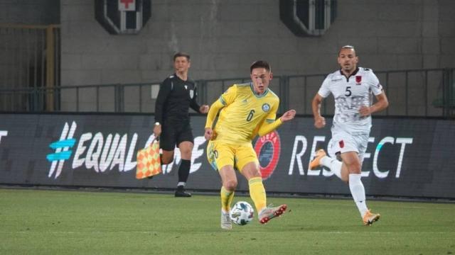 Бомбическим назвали гол казахстанца в матче с Албанией