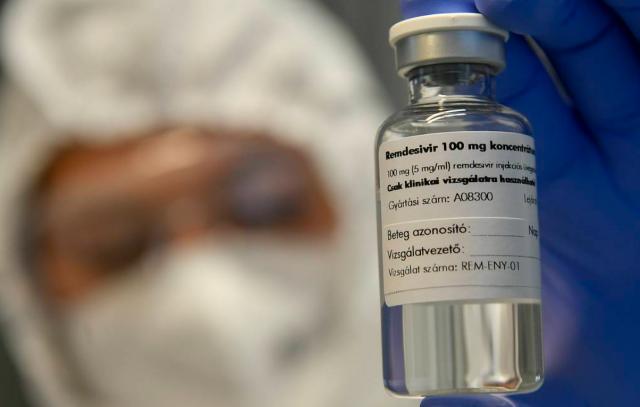 Эксперты ВОЗ рекомендовали не применять ремдесивир при лечении COVID-19 в больницах
