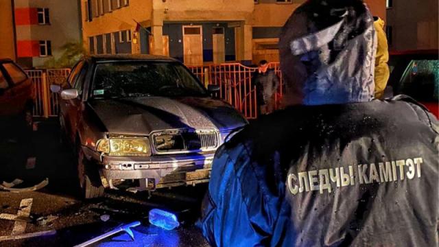 """Машину милиционера из """"черного списка"""" взорвали в Беларуси"""