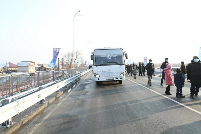 Два новых автомобильных моста открыли в Талдыкоргане