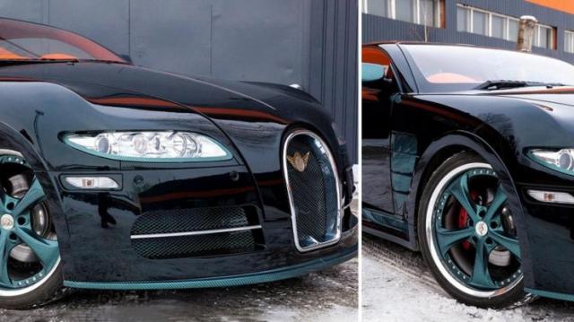 Копию Bugatti Veyron за 70 миллионов тенге выставили на продажу в Павлодаре