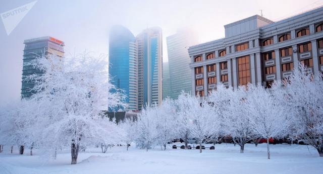 Морозы придут в Казахстан в первые дни зимы