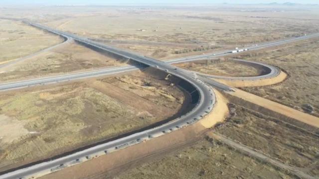 Ко Дню Первого Президента завершена реконструкция ряда участков автодорог в четырех областях