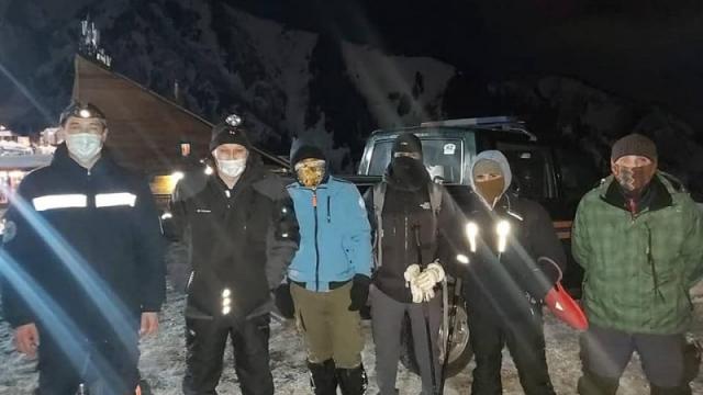Заблудившихся на Шымбулаке туристов спасли в Алматы