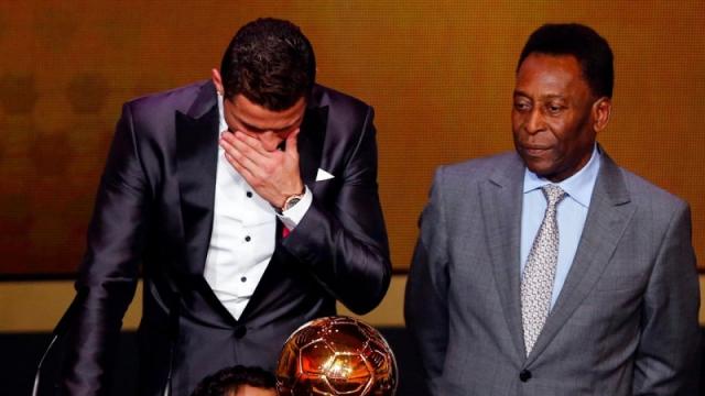 Пеле нашел способ обойти Роналду по голам за карьеру