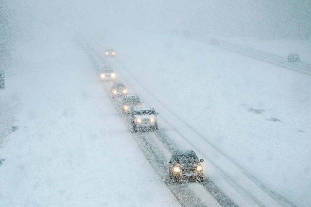 МВД призывает водителей не игнорировать сообщения об ухудшении погодных условий