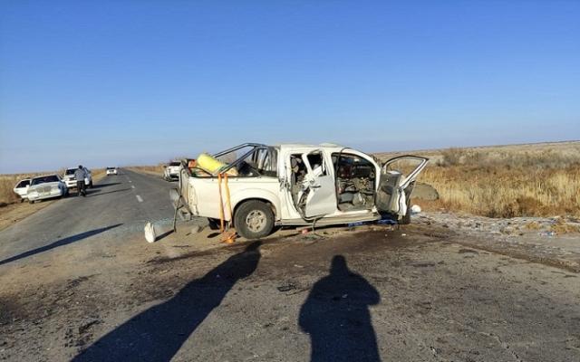 Пять человек погибли в ДТП на трассе в Кызылординской области