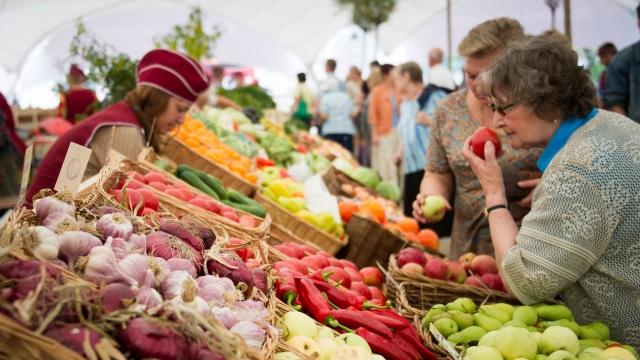На рынке Шымкента с продавцов требуют миллионы
