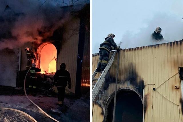 В райцентре Кандыагаш сгорел рынок. 70 семей предпринимателей потеряли весь оборот и заработок