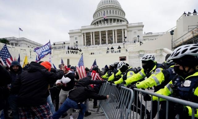 CNN: в США обвинили более 120 человек в организации беспорядков 6 января