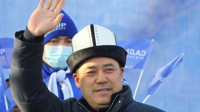 Новый президент Кыргызстана отказался от банкета и кортежа на инаугурации