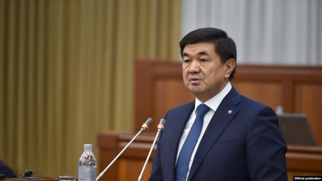 В Кыргызстане задержан бывший премьер-министр Мухаммедкалый Абылгазиев