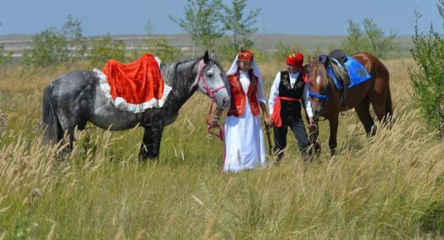Как в Казахстане празднуют день любви Козы-Корпеша и Баян-Сулу