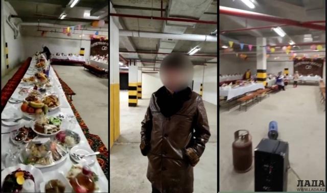 Тамада со скандального мероприятия на паркинге рассказал о появлении видеоролика в Сети
