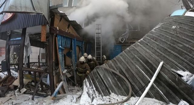 Взрыв в Петропавловске: среди погибших был арендатор кафе