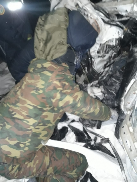 Выехали на закрытую трассу: 4 человека погибли в ДТП в ЗКО