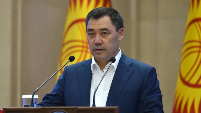Кто летит вместе с президентом Кыргызстана в Казахстан