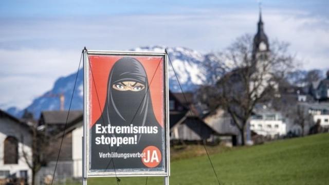 Без паранджи. Жители Швейцарии на референдуме поддержали запрет закрывать лицо