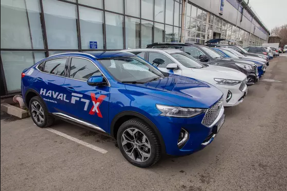 В Казахстан зашел новый автомобильный бренд Haval