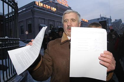 В Белоруссии задержали лидера оппозиционной партии