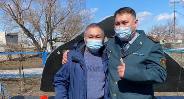 Исполнили волю дедов: внуки советских фронтовиков встретились в Казахстане