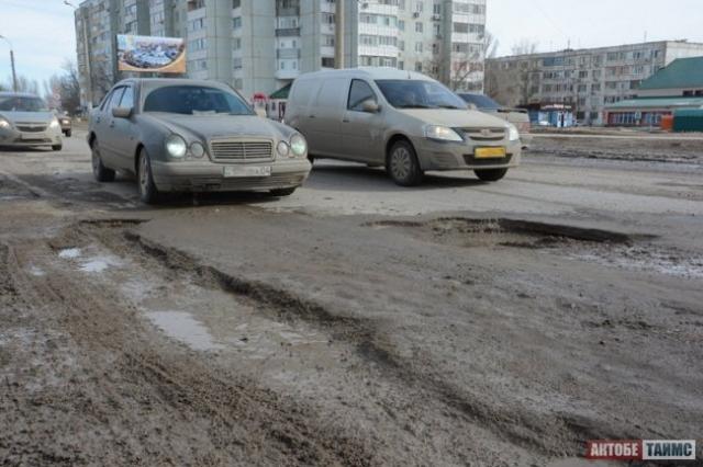 За плохие дороги оштрафовали актюбинского чиновника