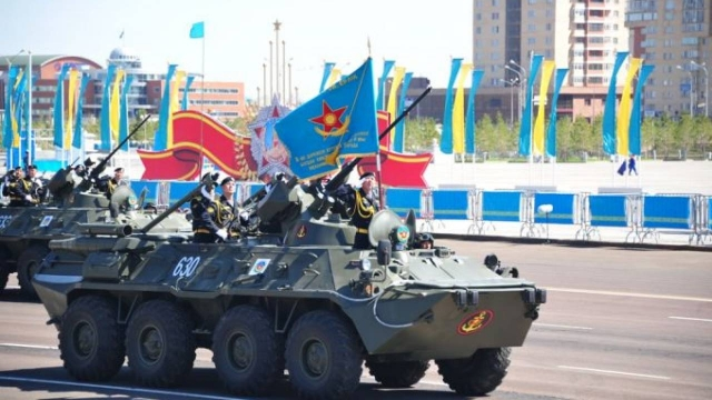 Парада в честь 7 мая не будет в Казахстане