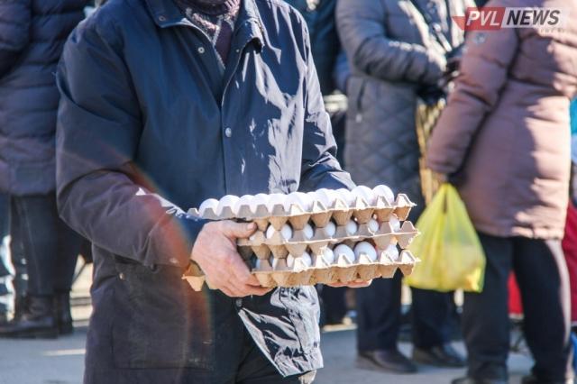 В павлодарские магазины завезли яйца с маркировкой о сниженной цене
