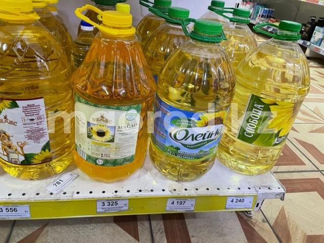 Подсолнечное масло подорожало в ЗКО