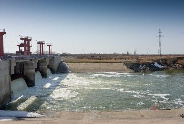 В Северном Казахстане резко поднялся уровень воды на водохранилище