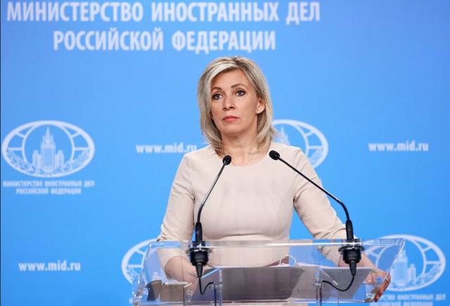 Захарова: Чехия пыталась перекрыть информацию о перевороте в Белоруссии