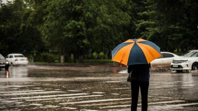 С  20 по 22 апреля в ряде регионов Казахстана ожидаются дожди со снегом