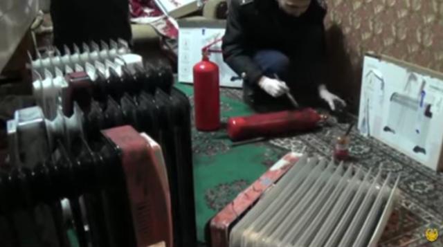 В огнетушителях и радиаторах завозили наркотики в Казахстан