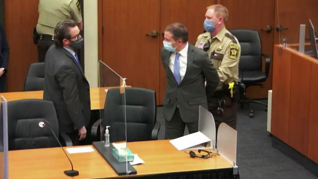 Экс-полицейский Дерек Шовин признан виновным в убийстве Джорджа Флойда
