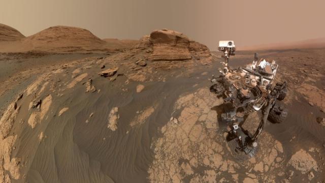 NASA объявило о первом в истории получении кислорода на Марсе