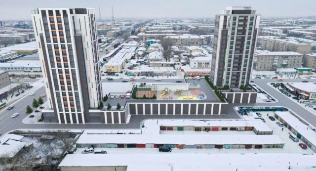 """Высотки вместо контейнеров построят на месте """"оптовки"""" в Петропавловске"""