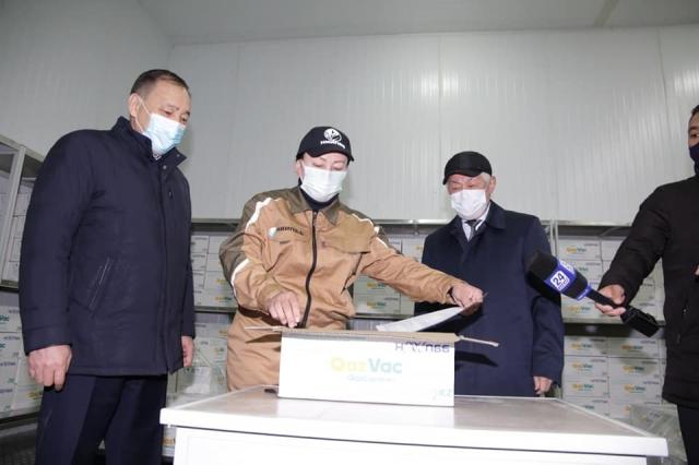 "С 26 апреля казахстанцам для прививки будет доступна отечественная вакцина  ""QazVac"""