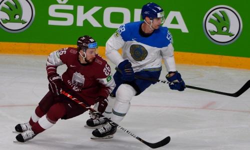 Как сборная Казахстана дважды отыгралась и победила Латвию на старте чемпионата мира-2021.