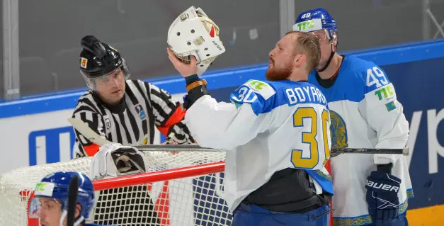 Казахстан пропустил 3 шайбы и потерпел первое поражение на ЧМ-2021 по хоккею