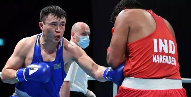 AIBA восхитилась нокдауном от капитана сборной Казахстана на пути в финал ЧА по боксу