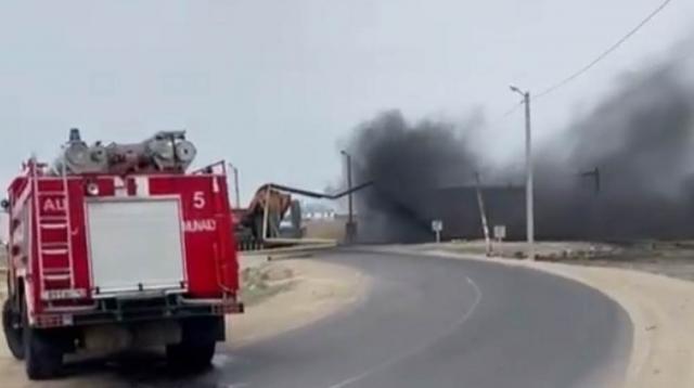 ЧП в Мангистау: Спецтранспорт врезался в газопровод