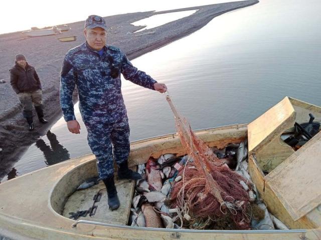 Более 850 кг рыбы изъяли у браконьеров в Алматинской области
